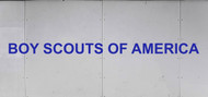 Trailer Graphic Text -  Boy Scouts of America® SP6524