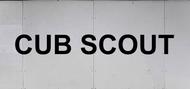 Trailer Graphic Text -  Cub Scout TM SP6533