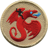 Dragon Rider Patrol Patch