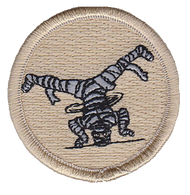 Dancing Mummy Patrol Patch