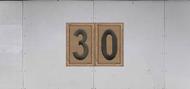 Troop Trailer Graphic Double Scouts BSA Troop Unit Numeral (SP6541)