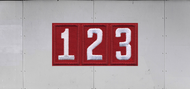Troop Trailer Graphic Triple Pack Unit Numeral (SP6539)