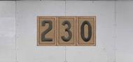 Troop Trailer Graphic Triple Scouts BSA Troop Unit Numeral (SP6542)