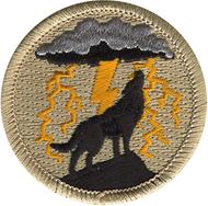 Howling Wolf Patrol Patch