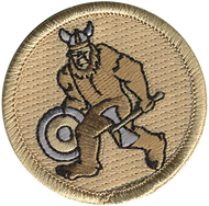 Viking Sasquatch Patrol Patch