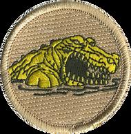 Yellow Gator Patrol Patch