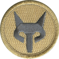 Silver Fox Patrol Patch