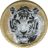 White Tiger Patrol Patch