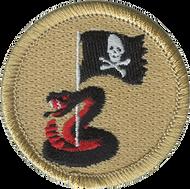 Pirate Rattlesnake Patrol Patch