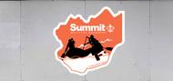 Custom Summit Bechtel Reserve Troop Trailer Graphic Whitewater Rafting (SP6690)