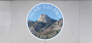 Custom Philmont Troop Trailer Graphic Trek Number (SP6682)