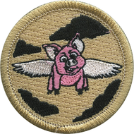 Flying Pig Patrol Patch