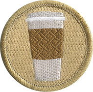 Official Licensed Coffee Cup with Sleeve Patrol Patch