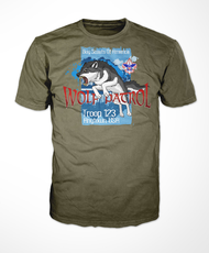 Custom Fierce Wolf Patrol T-Shirt (SP6583)