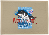 Custom Fierce Wolf Patrol Flag (SP6582)