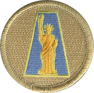 Lady Liberty Patrol Patch