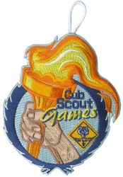 Cub Scout Games Torch Patch