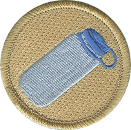Water Bottle Patrol Patch