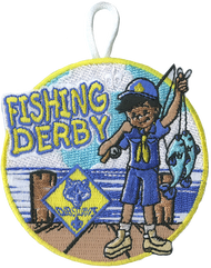 Cub Scouts Fishing Derby Patch