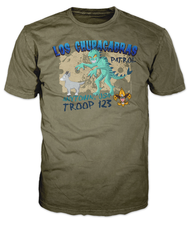 Custom Los Chupacabras Patrol T-Shirt (SP6652)