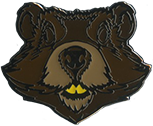Wood Badge Beaver Critter Head Pin