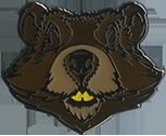 Wood Badge Beaver Critter Head Pin
