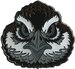Wood Badge Bobwhite Critter Head Pin