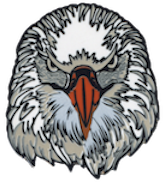 Wood Badge Eagle Critter Head Pin