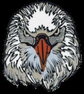 Wood Badge Eagle Critter Head Pin