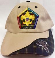 Wood Badge Antelope Critter Head Cap