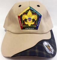 Wood Badge Eagle Critter Head Cap