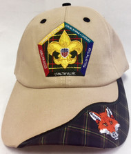 Wood Badge Fox Critter Head Cap