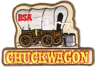 Chuckwagon Cub Scout Patch