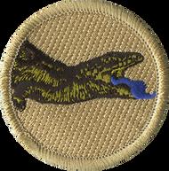 Blue Tongue Lizard Patrol Patch
