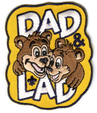 Dad and Lad Cub Scout Patch