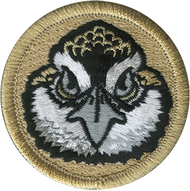 Bobwhite Head Patrol Patch