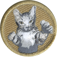 Bad Cat Patrol Patch Official Licensed