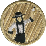 Amish Electrician Patrol Patch