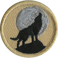 Howling Night Wolf Patrol Patch