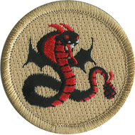 Flying Rattlesnake Patrol Patch