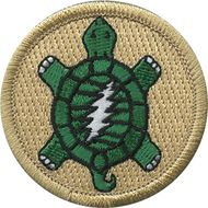 Lightning Turtle Patrol Patch
