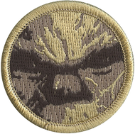 Man's Face Patrol Patch