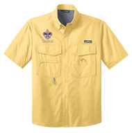 Eddie Bauer® – Short Sleeve Fishing Shirt  with BSA Corporate Logo