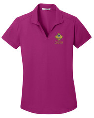 Dry Zone® Grid Ladies Wicking Polo with Cub Scout Logo