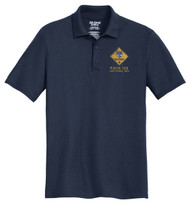 Cotton Pique Polo – Mens with Cub Scout Logo