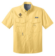 Eddie Bauer® – Short Sleeve Fishing Shirt  with Cub Scout Logo