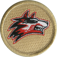 Fire Wolf Patrol Patch