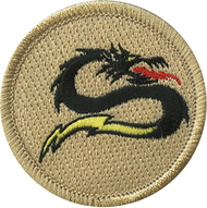 Dragon Bolt Patrol Patch