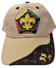 Wood Badge Three Bead Head Cap
