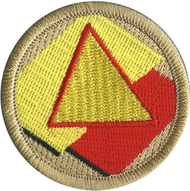 Geometric Nacho Patrol Patch